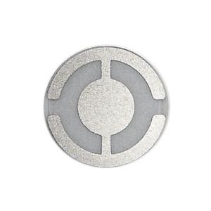 Quartz crystal 6 MHz, Silver, 14 mm