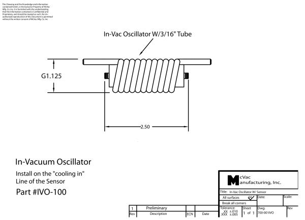 IVO100S In-Vacuum Oscillator