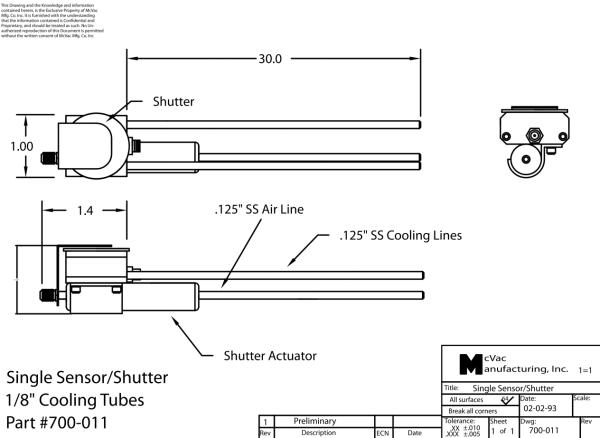 Single Sensor with Shutter