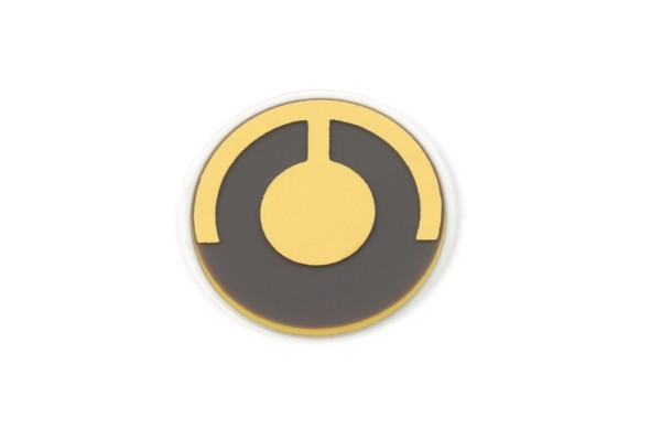 Quarz 5 MHz, Gold, 14 mm
