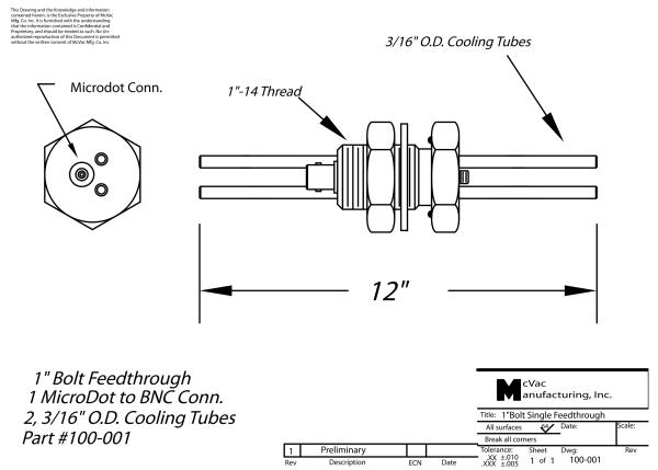Sensor Feedthrough