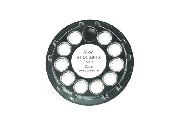 Quarz 6 MHz, Aluminium / Alloy 14 mm