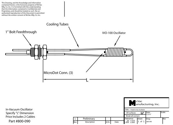 In-Vakuum Oszillator