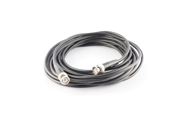 RG58C Coaxial Cable, BNC Male / Male, 25.0 ft