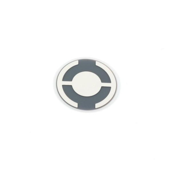 Quarz 6 MHz, Silber, 14 mm