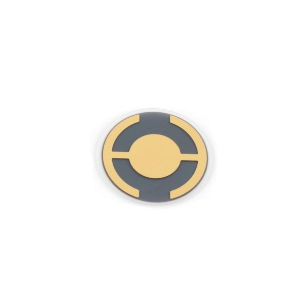 RC™ Quartz crystal 6 MHz, Gold, 14 mm