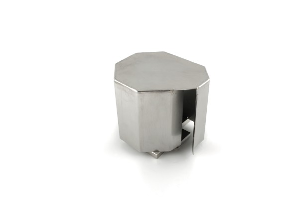 Stainless Steel Cover for Dual HV Feedthrough